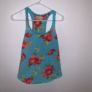 Floral Hollister Tank Top